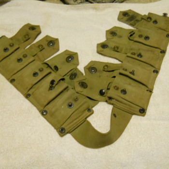 Military Clip/Ammunition Belt - Military and Wartime