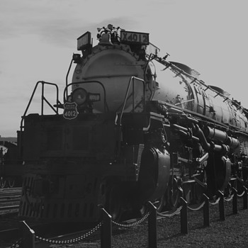 Union Pacific Big Boy 4012 - Railroadiana