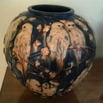 Parakeet Pottery Vase? - Pottery