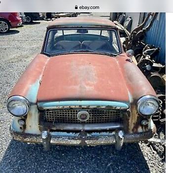 1958 Nash Metro - Classic Cars
