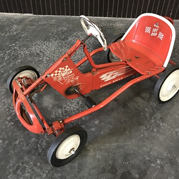 Original Murray Hot Rod pedal car  - Toys