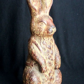Cast Aluminum Rabbit - Animals