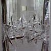 Hoya cut crystal vase