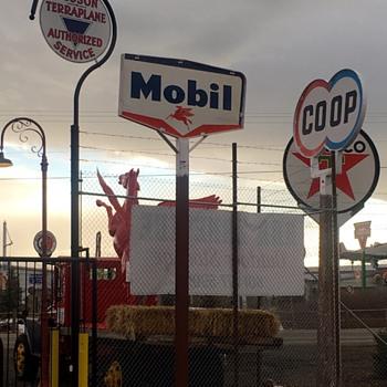 Mobil Pegasus Sign - Signs