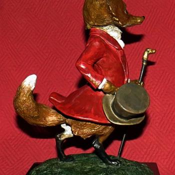 "Jenness Cortez ""Master Of The Fox Hounds"" Bronze Sculpture 28/50 - Art Deco"