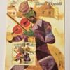 Mocambique-Correios Marc Chagall Souvenir Stamp