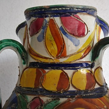 Vintage Italian Vase - Pottery