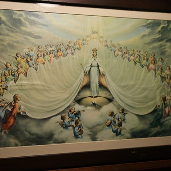 Mary: Queen of the Angels! - Fine Art