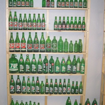 Bottle Display Shelves! - Bottles
