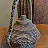 Lidded Basket with Open Weave