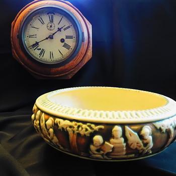 Antique Roseville Pottery Donatello 55-10 - Pottery