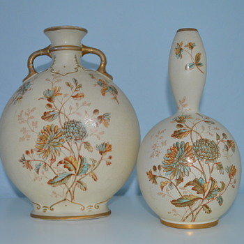 S. Fielding & Co ivory vases