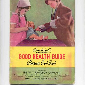 Old Rawleigh Almanac Cook Book