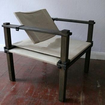 """Gerd Lange  - """"Farmer chair """" -  Bofinger  -  designed 1965 - Mid-Century Modern"""