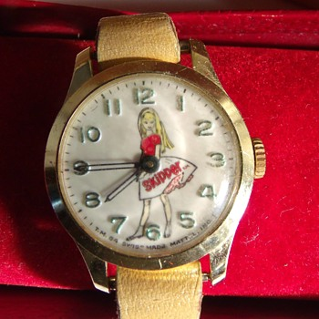 "Barbie Sister ""Skipper"" By Mattel Circa 1964 - Wristwatches"