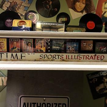 Time Magazine Sports Illustrated Advertising - Advertising