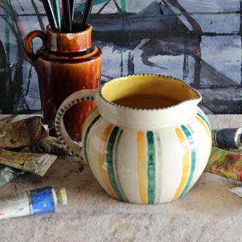 Scottish Pottery Handpainted Jug mystery - Pottery