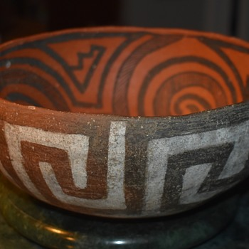 Large St. John's Anasazi Pottery Bowl - Native American