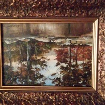 Wayne Spradley painting - Fine Art