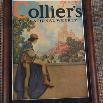 Maxfield Parrish Collier's Cover 5/12/29 - Paper