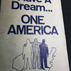 Original 1960's Placard / Protest Sign Used In Washington DC Civil Rights March