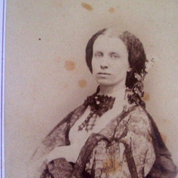 Famed Broadway Photographer C.D. Fredricks,Took This Late 1850's Actress? - Photographs