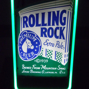 Rolling Rock - Signs