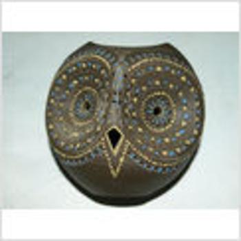 Pottery Owl Unknown Signature/ Hyroglyphs?
