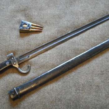 French Model 1892 Second Pattern Bayonet