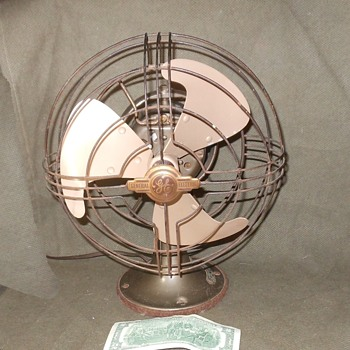"Tale of Two Fans GE Vortalex FMNV 9"" Fan 1942-1945 - Tools and Hardware"
