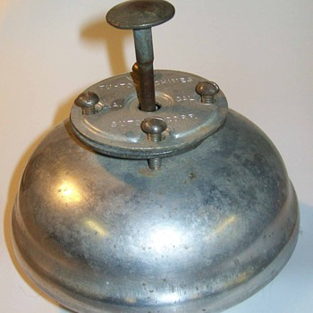 Foot operated bell