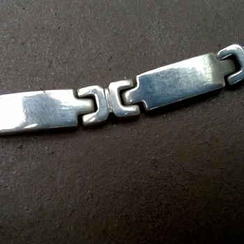 Sterling Silver Bracelet Flea Market Find 50 Cents
