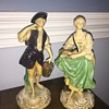 Borghese chalkware figures