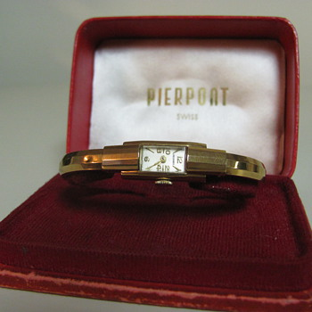 Pierpont Antique Watch in original case - Wristwatches