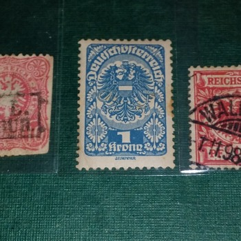 German  rare stamps