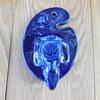 Stockton California Art Pottery Elephant Head Wall Pocket/match holder