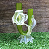 Kralik Floriform - Twin Stem Glass Flower Vase