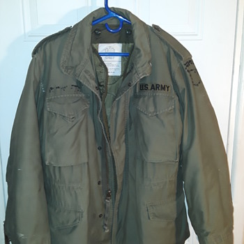 my vintage U.S. Army 'field jacket' - Military and Wartime