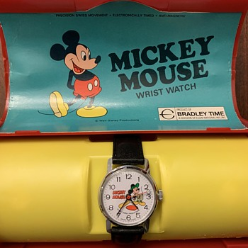 Mickey Mouse Baseball Bradley Wrist Watch - Wristwatches