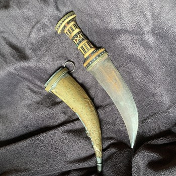 Looking to learn more about this old dagger found at my parents house!  - Tools and Hardware