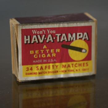 Hav-A-Tampa Matchbox