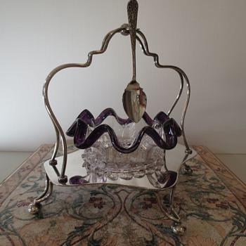 Victorian condiment/sugar bowl? - Victorian Era