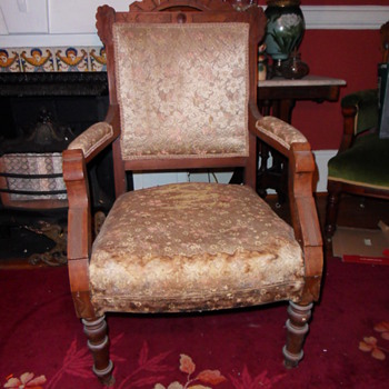Next Project:  Eastlake Gentleman's Chair - Furniture