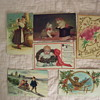 COLLECTING VINTAGE PAPER ITEMS--THEIR ENEMY--SCRAPBOOKING !(See 4 photos)