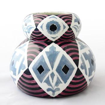 Art Déco Valencian pottery vase, ca. 1930 - Art Deco