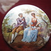 NEED ID - Victorian Courting Couple Porcelain Marked M.C. CO. 1200 N