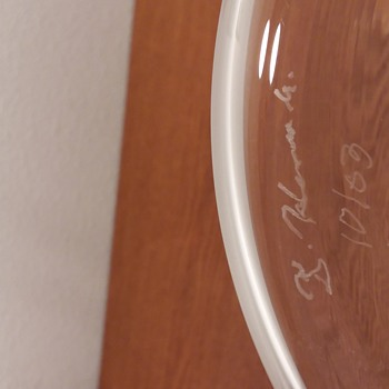 Unknown Art Glass Signature Help Please  - Art Glass