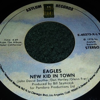 The Eagles...On 45 RPM Vinyl - Records