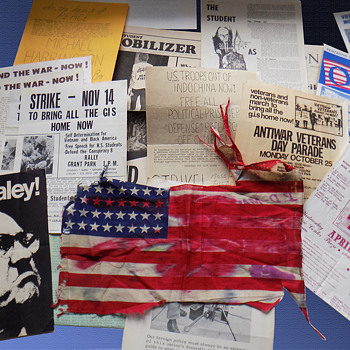 1960s Chicago Area Protest Ephemera from Single Source - Paper