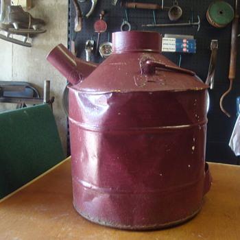 vintage gas jug ????????????????? - Petroliana